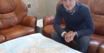 21-годишен французин обикаля света пеш, нощува в Свиленград