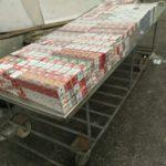 140 стека цигари в два тира спипаха на турско