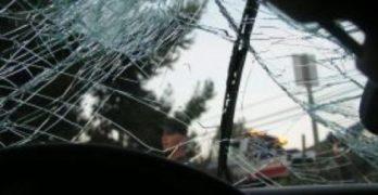 Тежък пътен инцидент в центъра на Свиленград,  нацелената кола не става, пострадали хора няма