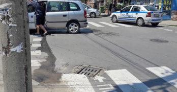 Лека катастрофа в свиленградската жега
