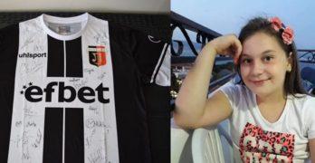 Футболистите на Локомотив – Пловдив в помощ на 12-годишната свиленградчанка Никол