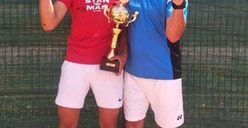 Дени Проданов взе шампионската купа в Румъния, на двойки е втори
