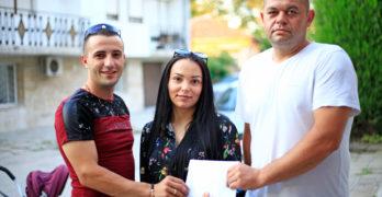 Младоженци дариха четирицифрена сума, за да помогнат на Никол от Свиленград