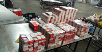 Над 2 100 000 къса контрабандни цигари задържаха през месец август митничарите от Капитана