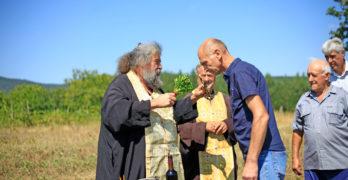 Първа копка на Кръстно знамение направиха в Студена, Свиленградско