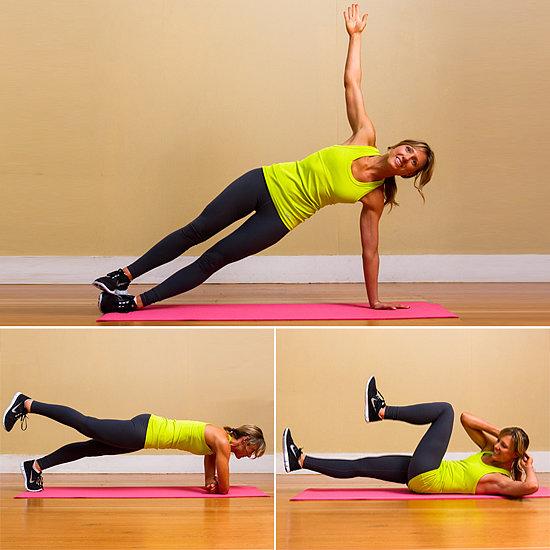 Упражненията за корем - хит във фитнеса
