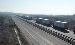 Километрични опашки от камиони на магистралата стигнаха до Свиленград