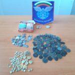 """Старинни монети и византийски печати в цигарени кутии, откриха митничари на МП """"Капитан Андреево"""""""