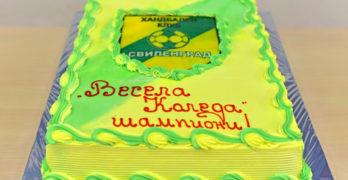 С торта завърши годината за шампионките от школата на ХК Свиленград