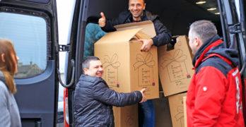 Коледни подаръци за свиленградските деца в нужда пристигнаха от Германия
