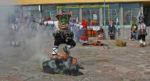 Кукери се стягат да налазят село Мезек, Свиленградско