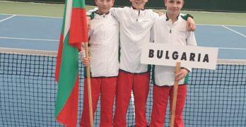 Гого Георгиев с победи на сингъл и двойки в Казан срещу Латвия