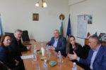 Кметът на Любимец Анастас Анастасов посрещна гости от община Люлебургас