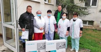 Ветераните на ФК Свиленград 1921 направиха дарение на отделението по хемодиализа