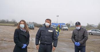 """Първите 64 тира са на летище """"Узунджово"""", опашката край Свиленград е стопена"""