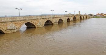 Река Марица вдигна нивото в Свиленград