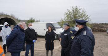 "2 551 камиона са конвоирани за 5 дни до свиленградското ГКПП ""Капитан Андреево"""
