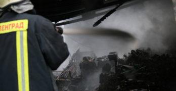 Пожар избухна в Свиленград, гараж изгоря в Гебран