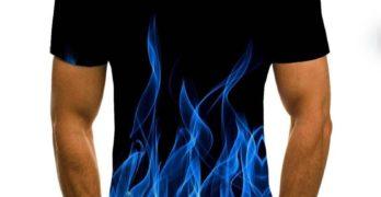 Мъжката асиметричната памучна тениска е хитът през това лято