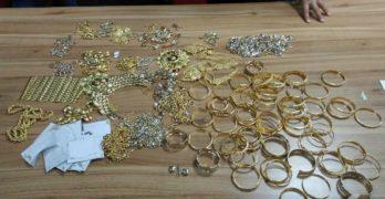 "Контрабандни златни накити за над 194 000 лева задържаха на свиленградския МП ""Капитан Андреево"" и на МП ""Лесово"""