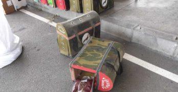 На Капитана, край Свиленград, спряха контрабанден тютюн за наргиле в клетки за бойни петли и кокошки