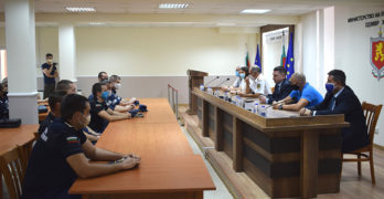 Четиринадесет свиленградски пожарникари бяха наградени от министъра на МВР Христо Терзийски