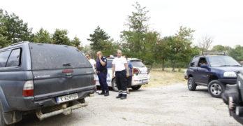 Пламна и край Оряхово, община Любимец. Военните пращат хеликоптер над Варник и Маточина, Свиленградско