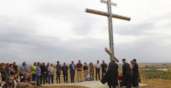 Осветиха светещия кръст край Студена, Свиленградско