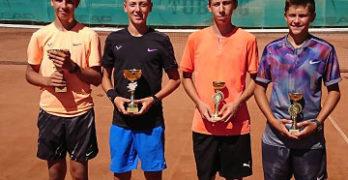 Георгиев и Маринов спечелиха турнира по двойки в Свиленград