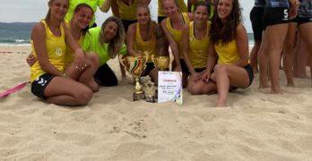 """""""Амазонки"""" правят фурор на плажа в Несебър, Кристина Миланова с приз за """"Най-атрактивен състезател"""""""