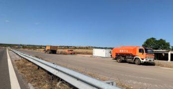 """Ремонтират автомагистрала """"Марица"""" край Свиленград, 2,3 км временно са затворени"""