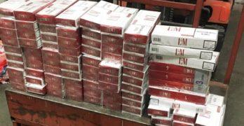 """Над 1 400 000 къса цигари иззеха митническите служители при проверки на МП """"Капитан Андреево"""", край Свиленград"""