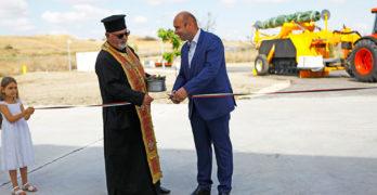 Кметът на Свиленград арх. Анастас Карчев откри компостираща инсталация за разделно събрани зелени и биоразградими отпадъци