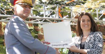 Областният управител д-р Стефка Здравкова присъства на тържествено честване по повод 22 години от създаването на Втора Тунджанска механизирана бригада