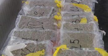 Спипаха на Капитана 27-годишен с марихуана за 37 000 лева