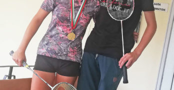 Два златни медала за Стефани Данаилова в петия кръг от Националната верига по бадминтон