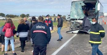 Български автобус катастрофира до Одрин, Турция