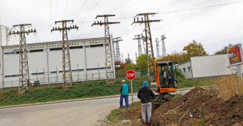"""Започна строителството на осветление на пътен възел """"Свиленград"""" на АМ """"Марица"""""""