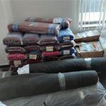 """""""Митници""""-те продават плат, конци, копчета, ципове и килими  задържани на МП """"Капитан Андреево"""", край Свиленград"""
