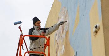 Рисуват огромни графити в Свиленград, следват Пловдив, Варна, Стара Загора и Бургас