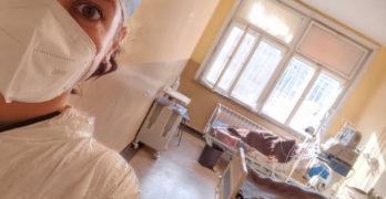 КОВИД-19 през шлема на един млад лекар от Свиленград,  доброволец в интензивния сектор на Инфекциозната клиника в Пловдив