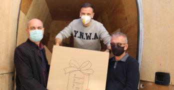 Децата от община Любимец получават за Коледа подаръци от Германия