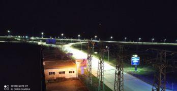 """Пътен възел """"Свиленград"""" на автомагистрала """"Марица"""" светна"""