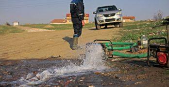 В Свиленград е аварирал напорния водопровод