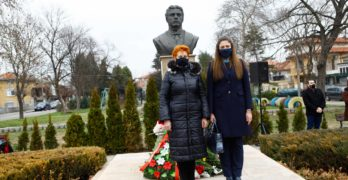 С тържествена церемония Свиленград отбеляза 148 години от гибелта на Апостола на свободата