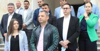 ГЕРБ регистрира кандидат-депутатската си листа за предстоящите парламентарни избори в Хасковския избирателен район