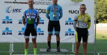 Веселин Георгиев спечели 4 бронзови медала от Държавния личен отборен шампионат на писта