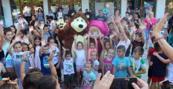 С детско маскот парти Любимец откри празничните дни на града
