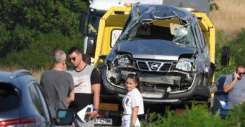 """Свиленградчанин пострада в катастрофа на автомагистрала """"Марица"""" между Харманли и Любимец"""