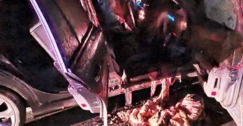 """Турско семейство гастарбайтери катастрофираха с кон на магистрала """"Марица"""" до Свиленград"""